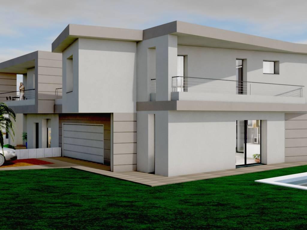 foto  Two-family villa via Fratelli Cagnana, Zanica