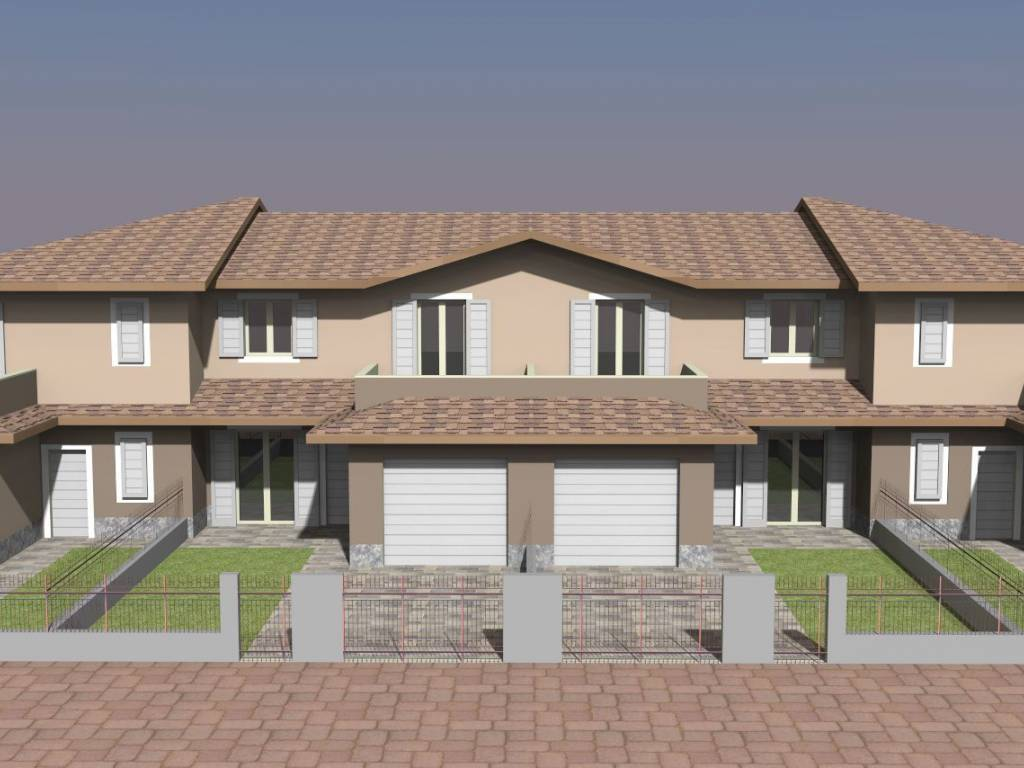 foto  Terraced house via Aldo Moro, San Benedetto Po