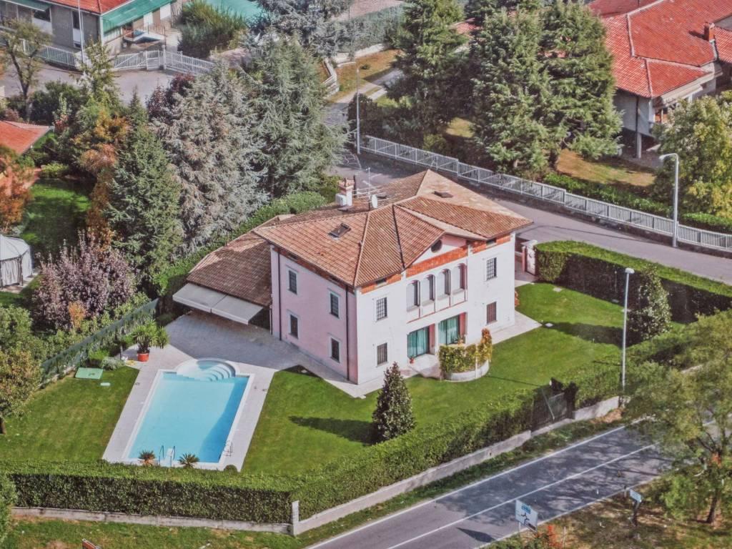 foto Panoramica Villa unifamiliare via Crocefisso 100, Erbusco