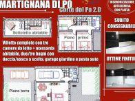 Villetta a schiera Vendita Martignana di Po