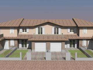 Photo - Terraced house 4 rooms, new, Quistello
