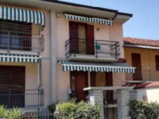 Foto - Villetta a schiera all'asta via Sant'Anna, Castelletto Stura