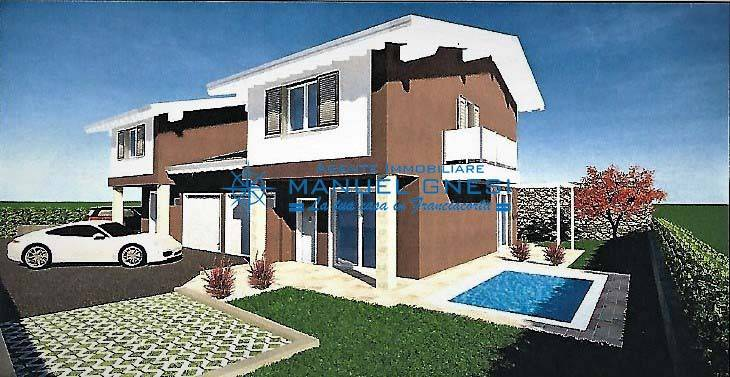 foto  Villa bifamiliare via Gianfranco Miglio, Corte Franca