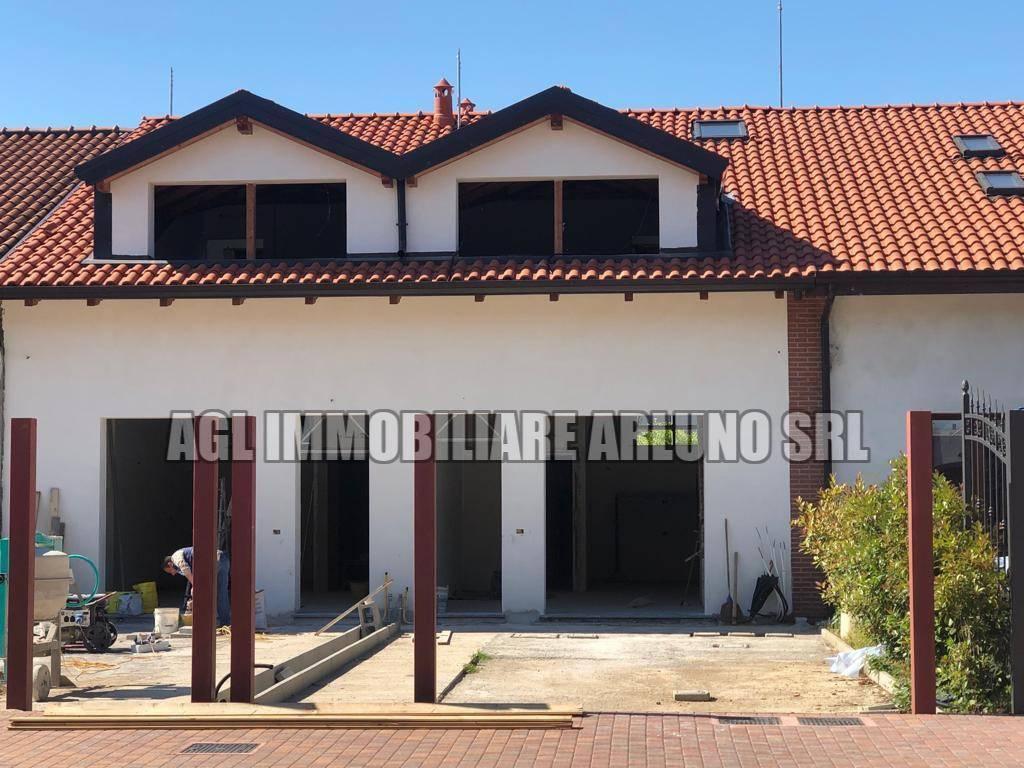 Immobiliare Sant Andrea Concorezzo vendita villa a schiera in via sant'ambrogio vittuone. nuova