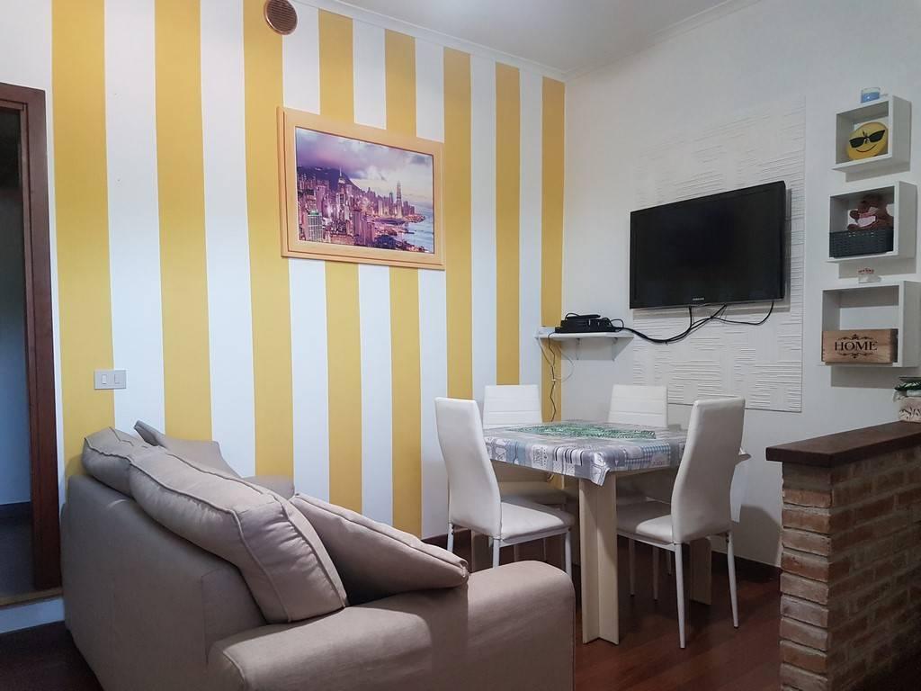 foto soggiorno Dreizimmerwohnung via Pascoli, Cerreto di Spoleto