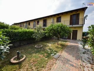 Foto - Villa a schiera via Castelletto 30, Piobesi Torinese