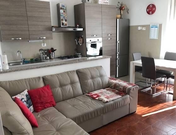 foto zona giorno 3-room flat via Candiasco 6-A, Casarza Ligure