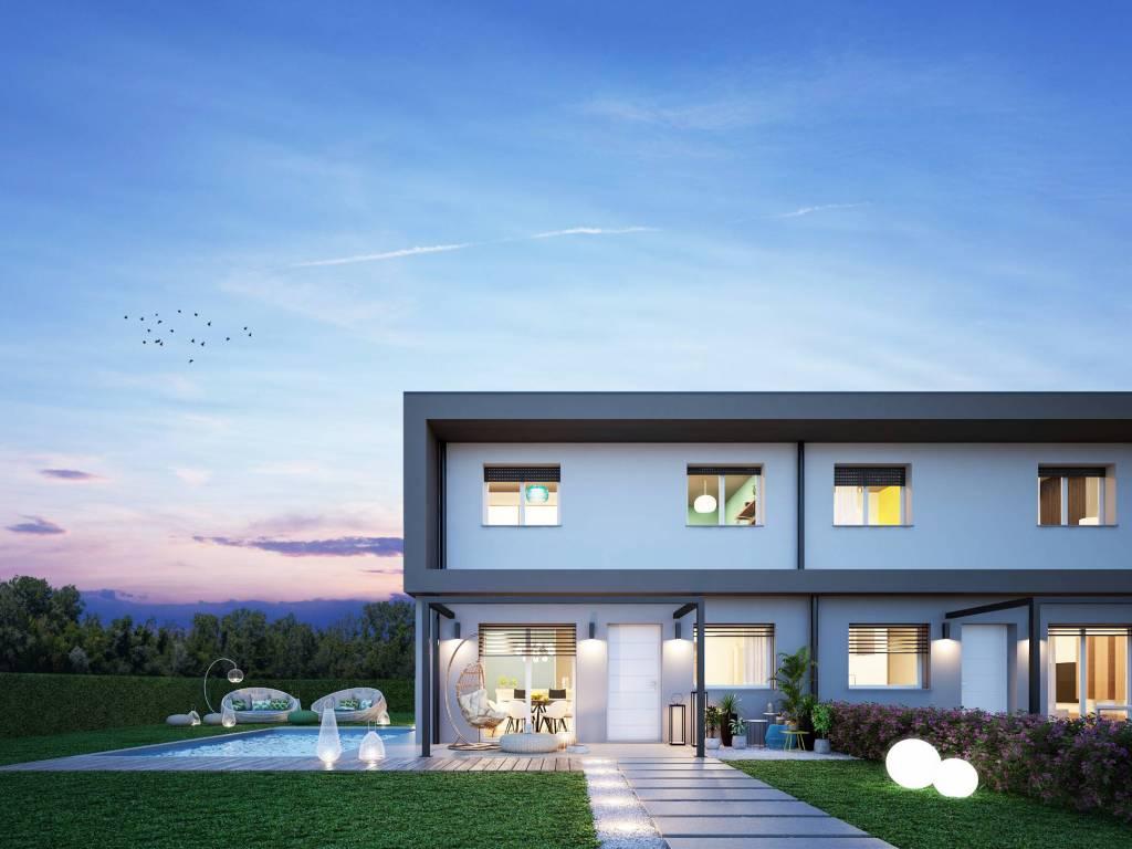 foto esterno Single family villa via dei Platani, Bolgare