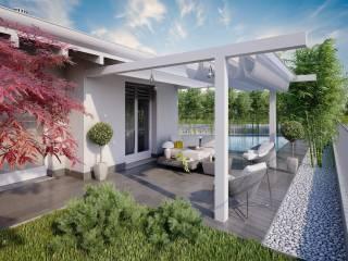 Photo - Single family villa, new, 140 sq.m., Cavernago
