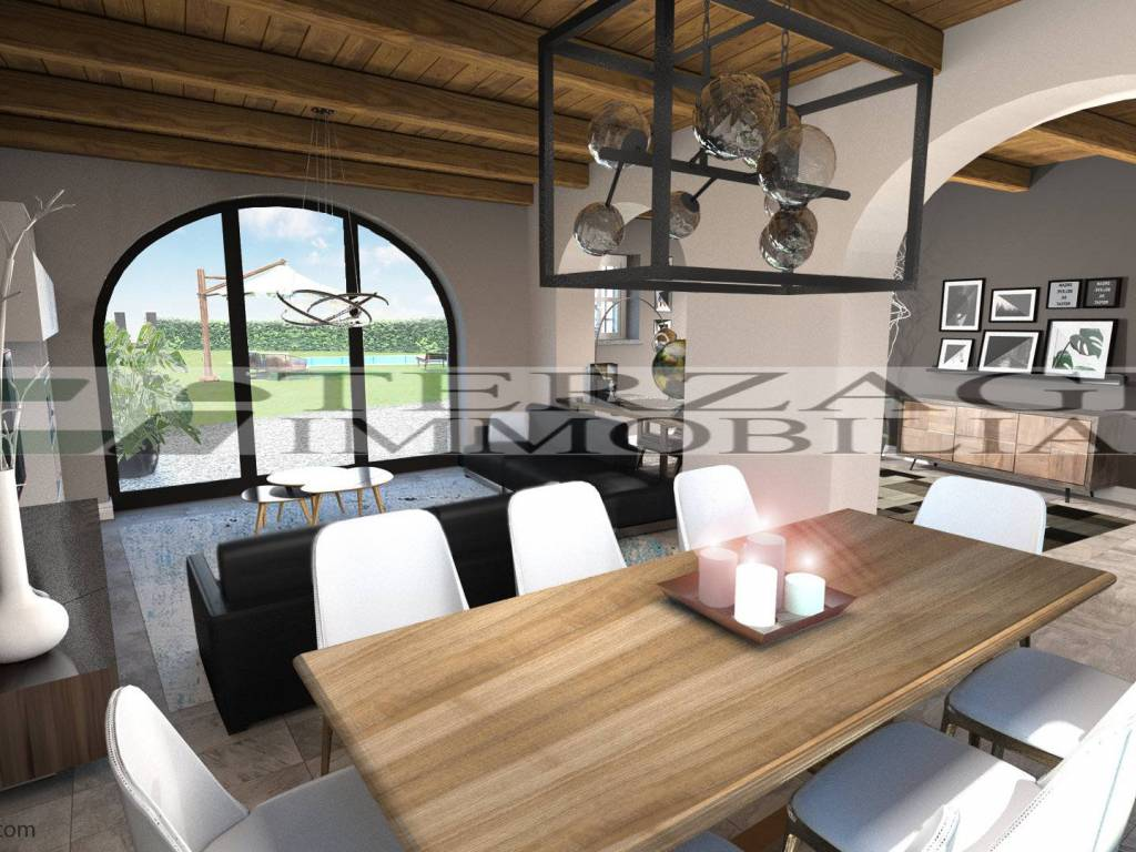 foto  Villa unifamiliare, nuova, 289 mq, Fossano