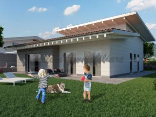 Photo - Single family villa, new, 180 sq.m., San Paolo d'Argon