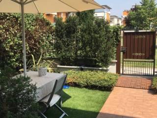 Foto - Villa a schiera via Angelo Canossi, Montirone