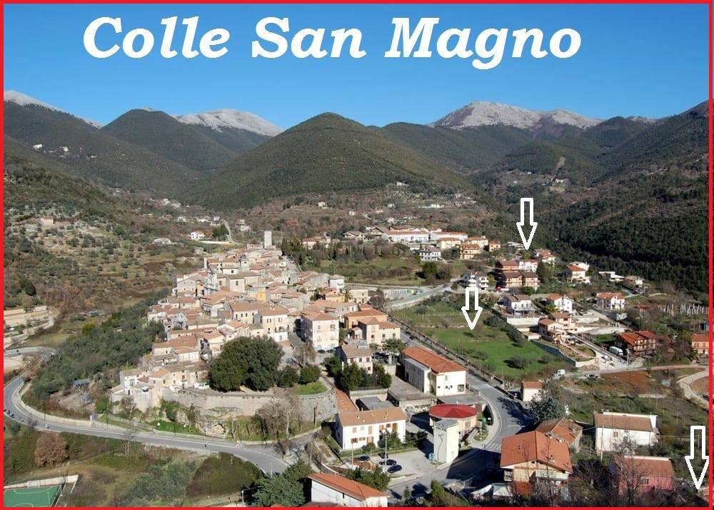 foto collesanmagno Residential building plot in Colle San Magno