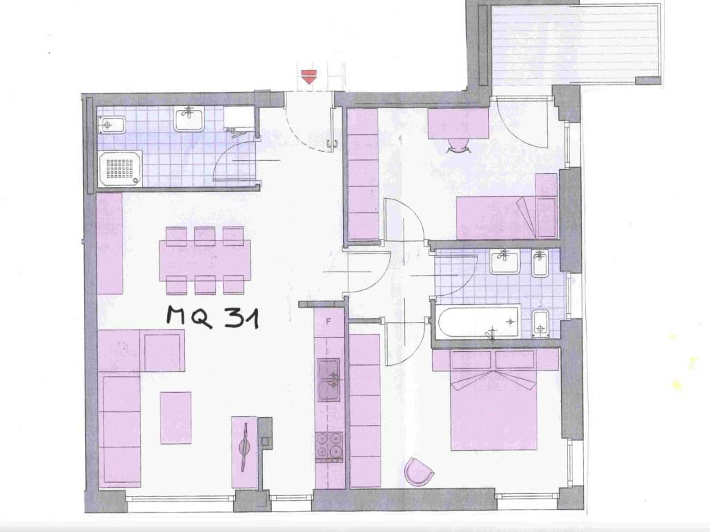 foto  3-room flat fifth floor, Laives