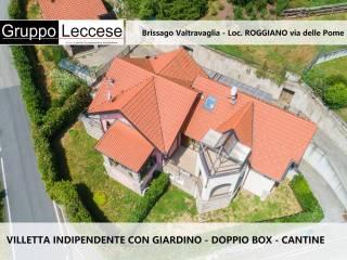 Foto - Villa a schiera via dante Alighieri 17G, Roggiano, Brissago-Valtravaglia