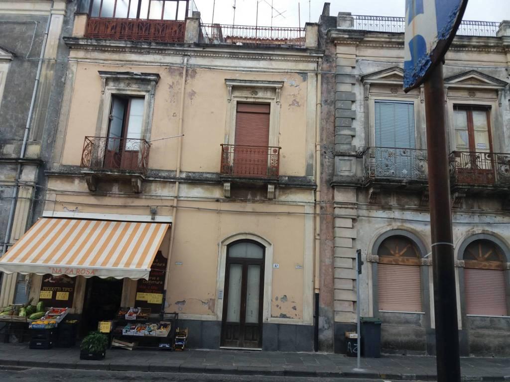 foto  Single-family townhouse corso Vittorio Emanuele II 20, Piedimonte Etneo