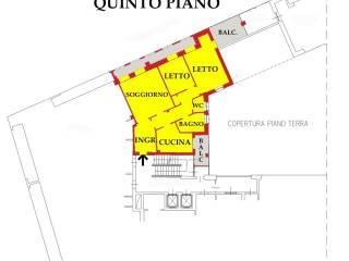Foto - Quadrilocale largo di Porta Pradella, Centro, Mantova