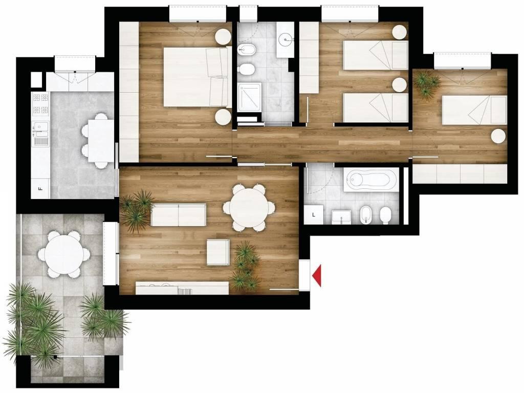 foto  Appartamento via Edera, Budrio