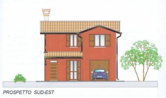 foto  Single-family townhouse 100 sq.m., new, Papozze