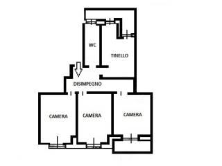 Photo - 4-room flat via Vittorio Zanellato, Venaria Reale