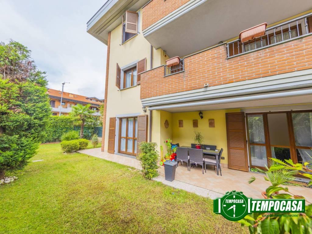 foto Giardino 3-room flat via A  Valè, Noviglio