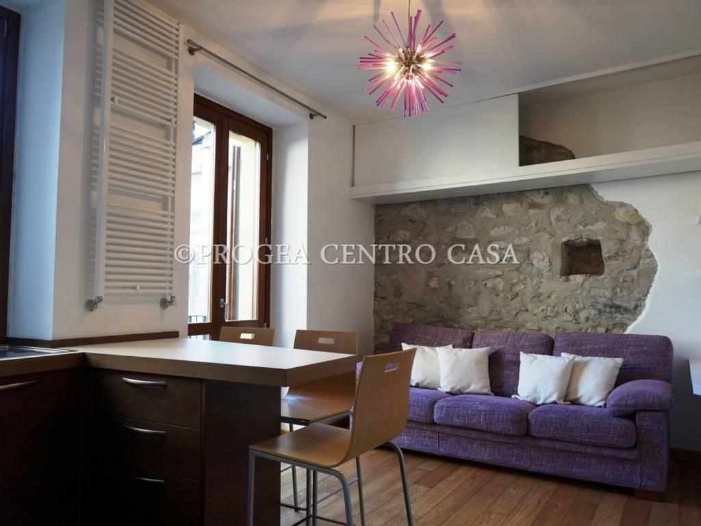 foto Soggiorno Bilocale via Roma 11, Sorisole