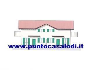 Foto - Villa bifamiliare via Alessandro Pertini, Castiraga Vidardo