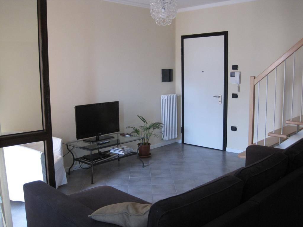 foto soggiorno Penthouse good condition, 99 sq.m., Reggio Emilia