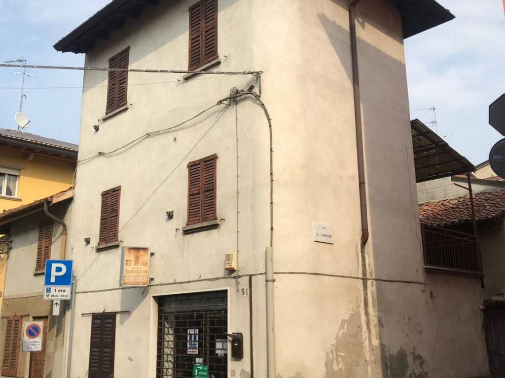 foto esterno Detached house via Emilio Azzi 47, San Colombano al Lambro