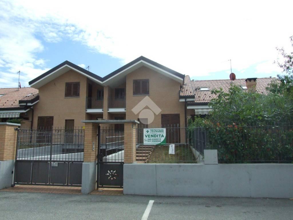 foto  Villa a schiera via Costantino Nigra, Volvera