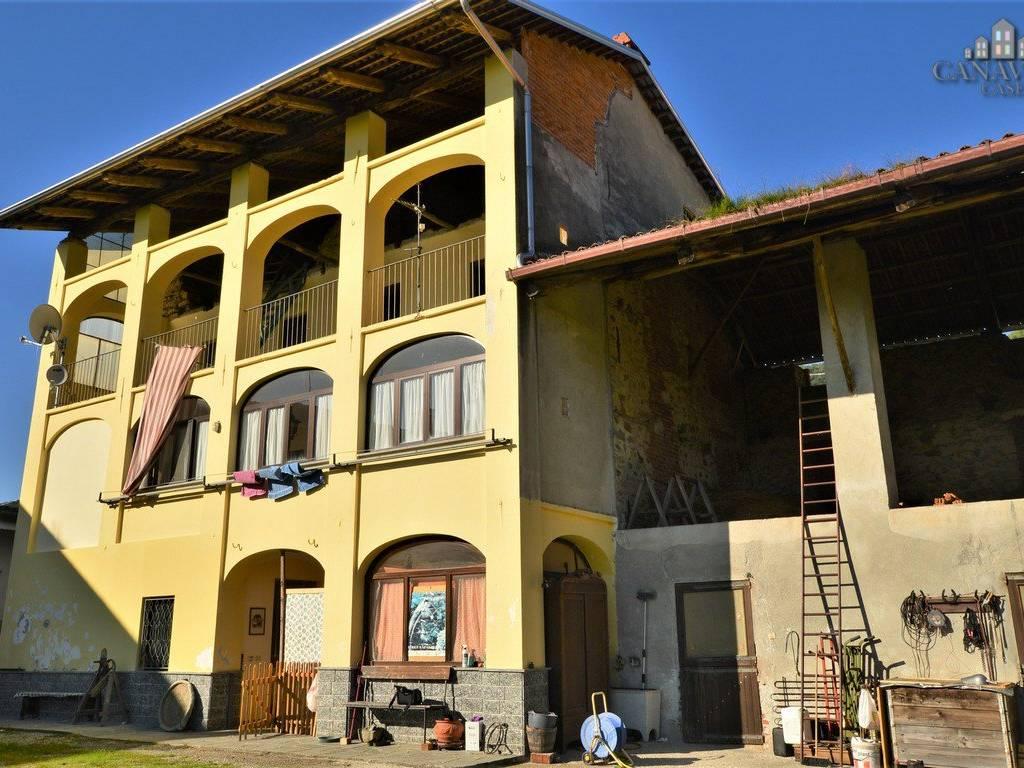 foto facciata Terratetto unifamiliare via Enzo Migliore 22, Lessolo
