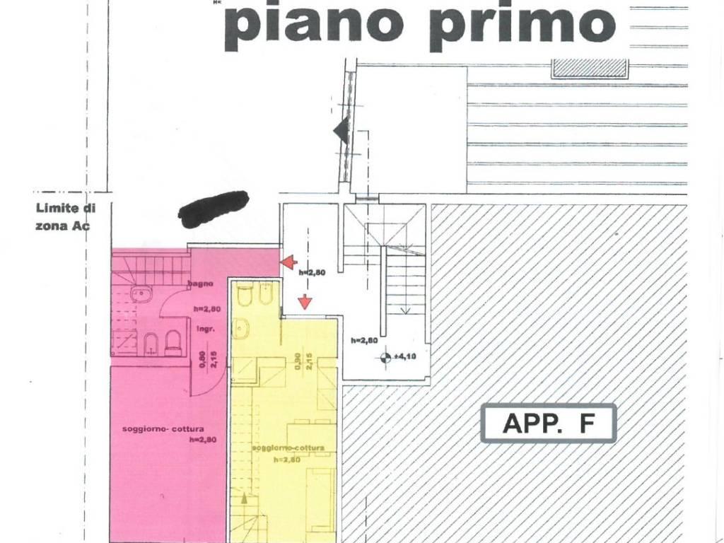 foto piantina Bilocale via di Calenzano, Sesto Fiorentino