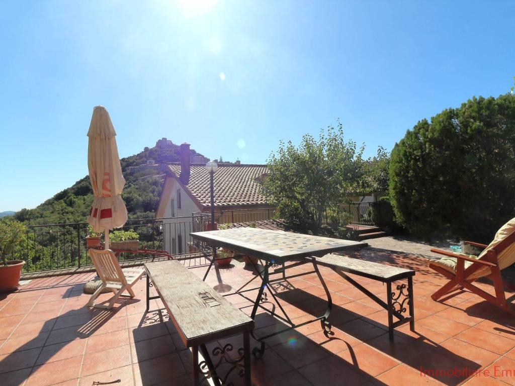 foto esterno Quadrilocale via San Sebastiano 12, Tolfa