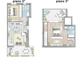 Photo - Penthouse via Massimo D'Azeglio 7, Cassano d'Adda