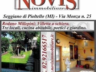 Photo - Terraced house 3 rooms, good condition, Millepini, Rodano