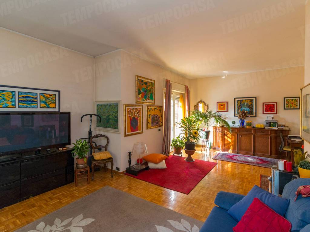 foto Soggiorno 4-room flat via dei Tigli 10, Rodano