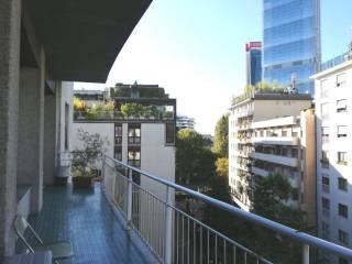 Foto - Appartamento via Vincenzo Monti 79-5, Sempione, Milano