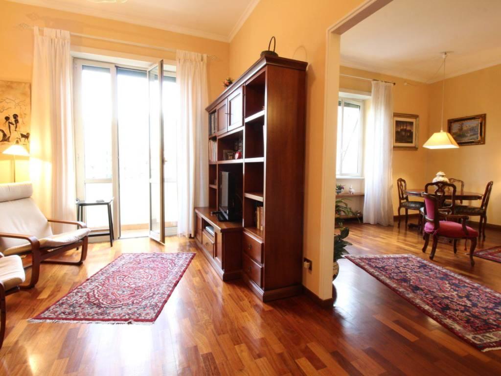 foto salone Quadrilocale via Guido Reni 32, Roma