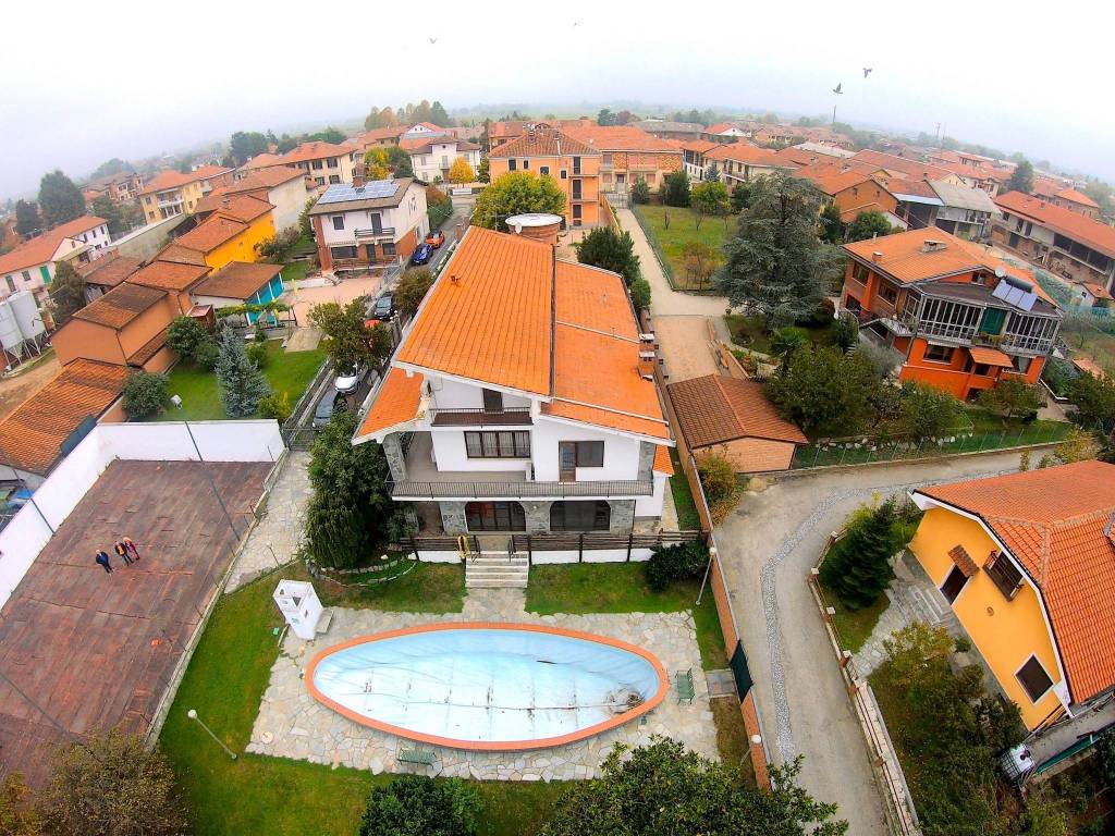foto vista dall'alto Single family villa via Trieste 3, Valfenera