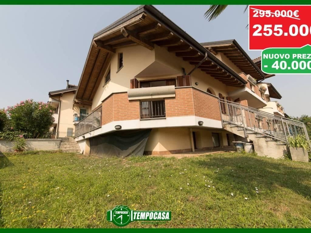foto giardino Terraced house via Dante Alighieri 7, Masate