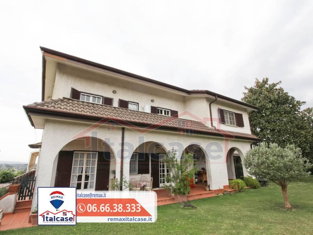 foto facciata Single family villa via Colle Vigne, Gallicano nel Lazio