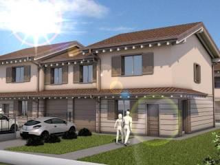 Photo - Single family villa, new, 194 sq.m., Torre Pallavicina