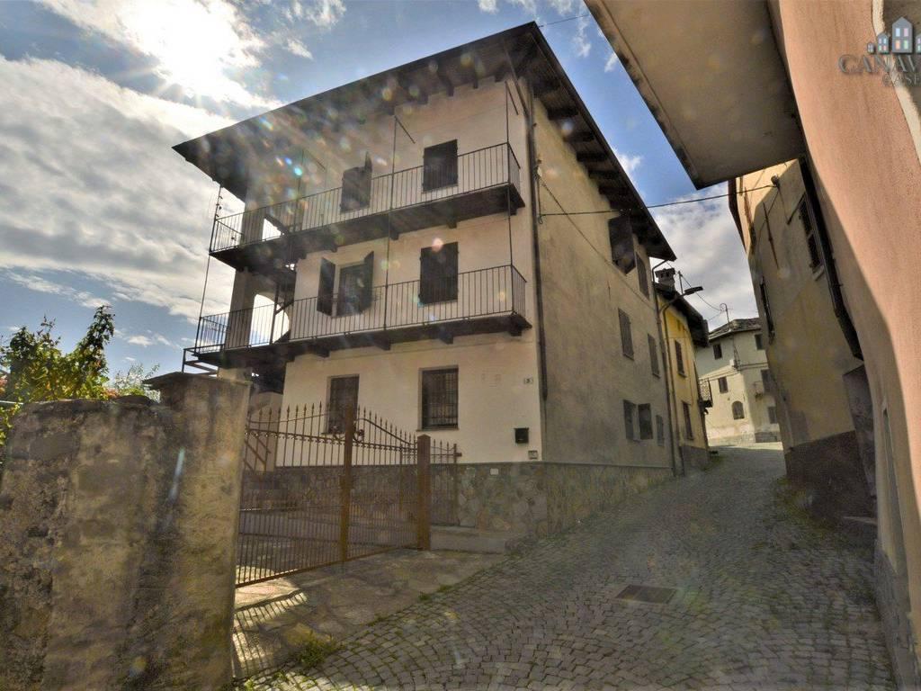 foto facciata Terratetto unifamiliare via Giuseppe Garibaldi 3, Brosso
