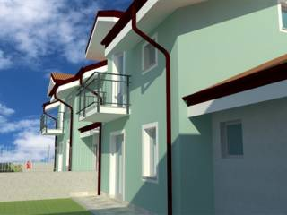 Photo - Single family villa, new, 151 sq.m., Candiolo