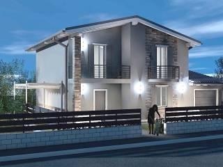 Photo - Two-family villa, new, 185 sq.m., Sabbioneta