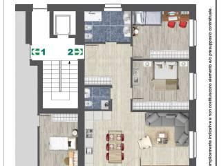 Foto - Dreizimmerwohnung neu, Erdgeschoss, Braies