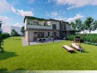 Foto - Casa indipendente 210 mq, nuova, Savignano sul Rubicone