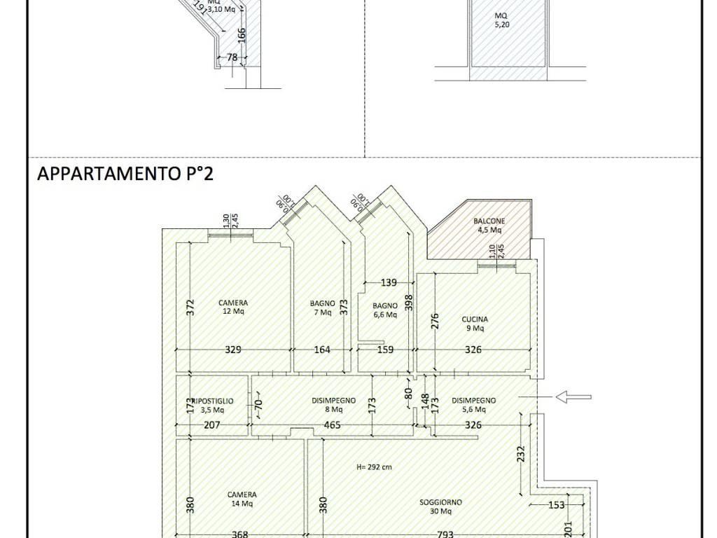 foto  3-room flat via John Fitzgerald Kennedy, San Donato Milanese