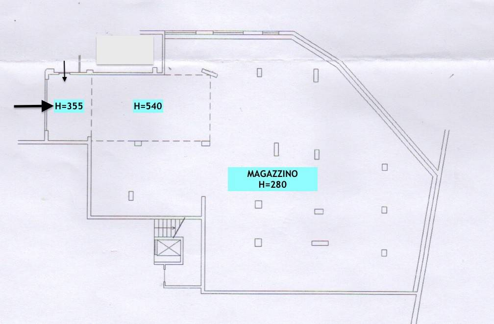 foto Planimetria Catastale Magazzino in Vendita