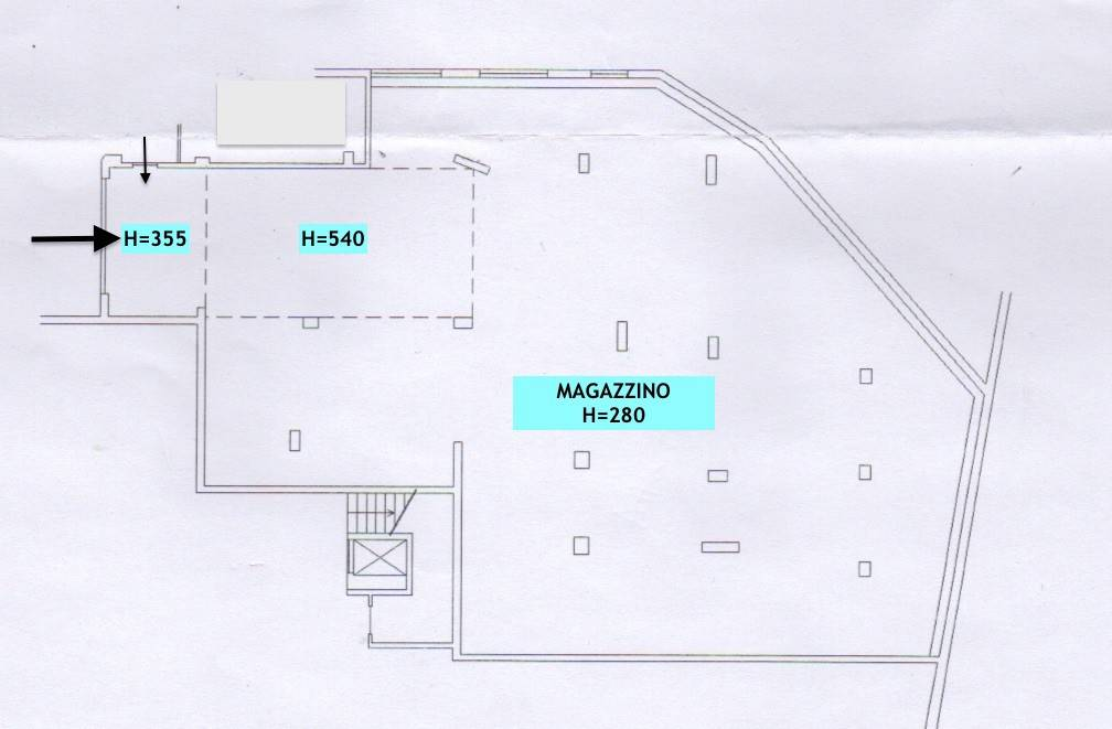 foto Planimetria Box o garage via Donato Dutto 11, Boves